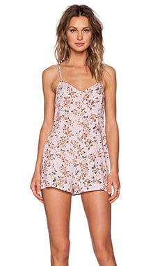 MINKPINK Pink Floral Playsuit in Multi