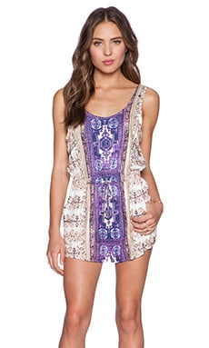 MINKPINK The Fallen Playsuit in Multi