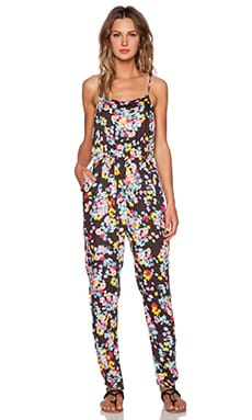 MINKPINK Floral Pop Jumpsuit in Multi