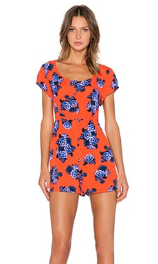 MINKPINK China Nights Romper in Multi