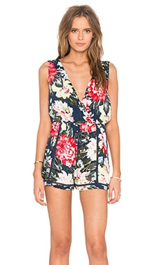 Nothing Like The Wild Romper in Multi