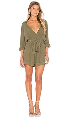 Incaptured Romper in Khaki