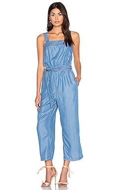Midnight Madness Jumpsuit in Mid Blue