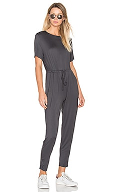 Skinny Jumpsuit in Charcoal
