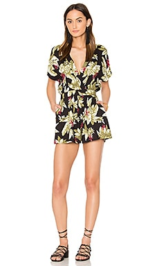 Panama Romper in Multi