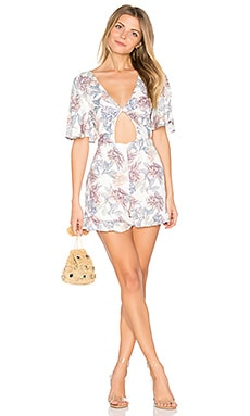 Mysterious Playsuit in Multi