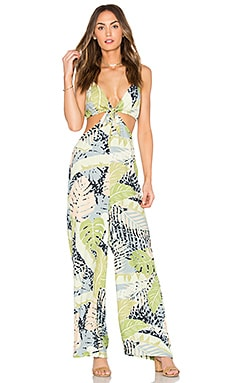 Aloha Jumpsuit in Multi