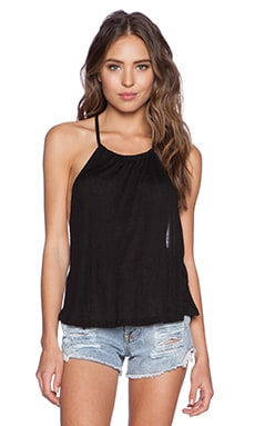 MINKPINK After Party Low Back Tank in Black