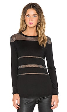 MINKPINK Child Of The Night Top in Black