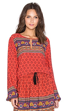MINKPINK Boho Queen Top in Multi