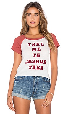 MINKPINK Take Me To Joshua Tree Tee in Terracotta