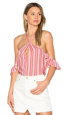 Haiti Cold Shoulder Top
