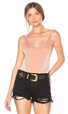 Plunge Velvet Bodysuit
