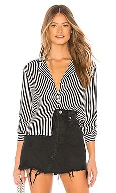 Купить Рубашку stripe - MINKPINK цвет black & white