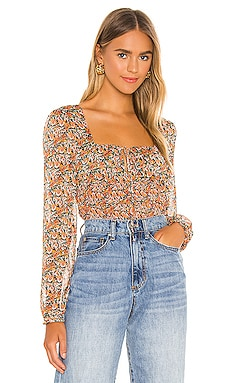 Fleetwood Floral Chiffon Top MINKPINK $89 BEST SELLER