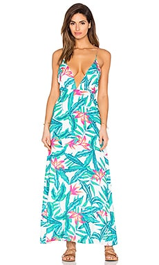 Panama Palms Dress