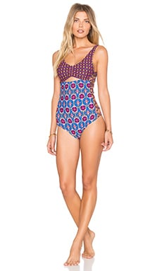 MINKPINK Conflict Of Interest Once Piece Swimsuit in Multi