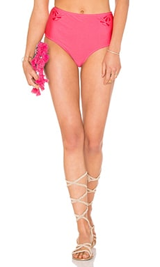 Cut Me Loose Bikini Bottoms in Hot Pink