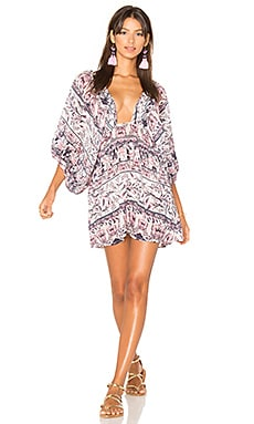 Mozambique Mini Dress in Multi
