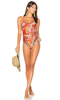 Monsoon Leaves Splice One Piece in Multi