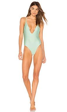 Купить Слитный купальник amelia - MINKPINK, Слитные купальники, Китай, Серовато-зеленый