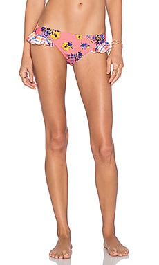 MINKPINK By The Sea Ruffle Bikini Bottom in Multi