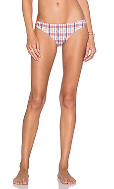 MINKPINK Check It Bikini Bottom in Multi