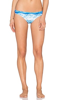 MINKPINK Shibori Wave Bikini Bottom in Multi