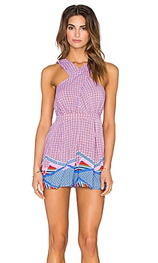 MINKPINK Block Party Romper in Multi