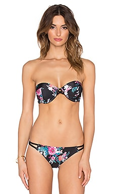 MINKPINK Beach Blossom Bikini Top in Multi