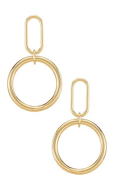 Audrey Earrings MIRANDA FRYE $51