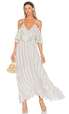 Купить Платье augustina - MISA Los Angeles, Макси, США, Ivory