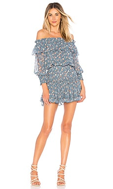 Купить Платье katryna - MISA Los Angeles аспидно-серого цвета