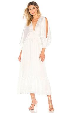 Купить Платье valencia - MISA Los Angeles, Макси, США, Белый