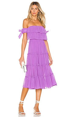 X REVOLVE Micaela Dress MISA Los Angeles $295 BEST SELLER