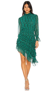 X REVOVLE Savanna Dress MISA Los Angeles $326
