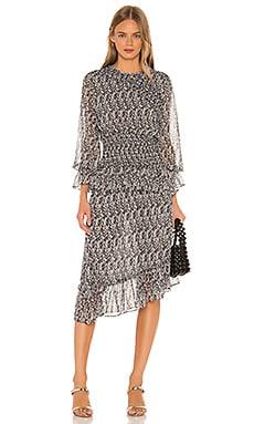 Sophia Smocked Dress MISA Los Angeles $356