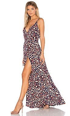 MISA Los Angeles Chelsea Dress in Animal
