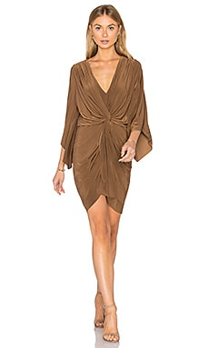 Teget Dress in Camel