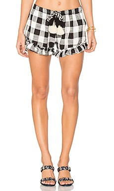 Lacy Shorts in Plaid
