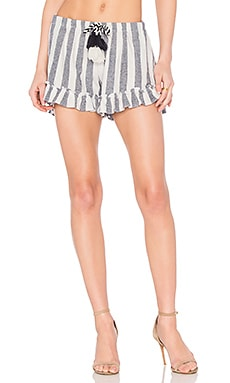 Lacy Short in Carlton Stripe