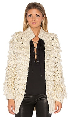 MISA Los Angeles Carine Cardigan in Cream
