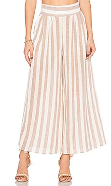 Bazaar Pant in Blush Stripe