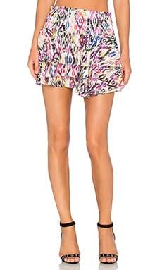 MISA Los Angeles Pilar Ruffle Skirt in Rio Ikat