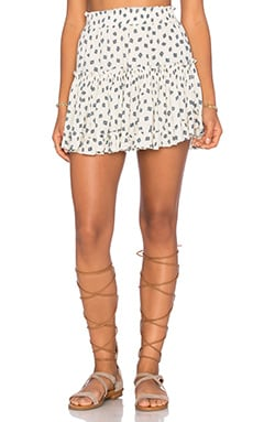MISA Los Angeles Marion Skirt in Tulum Print