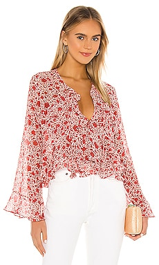 X REVOLVE Damaris Top MISA Los Angeles $246 BEST SELLER