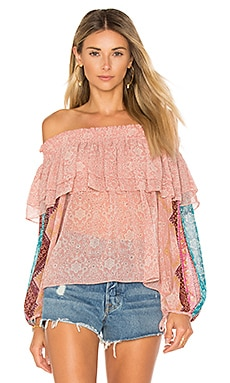 Lyla Top en Rose Pivoine