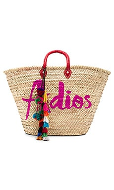 Marrakesh Adios Bag With Lucja Multi Pom Pom