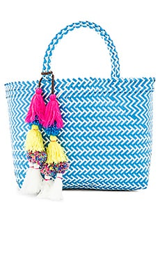 Mercado Tote in Blue