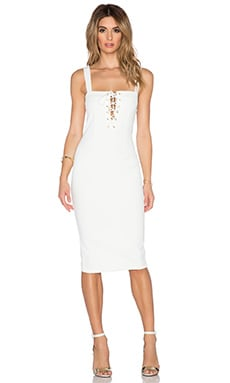 Misha Collection Lovisa Dress in White